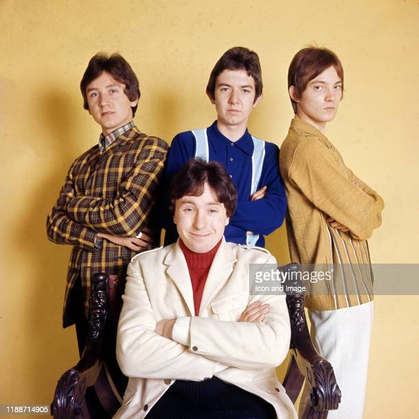 English drummer Kenney Jones, English musician, songwriter and producer Ronnie Lane , English musician, songwriter and frontman Steve Marriott , and...