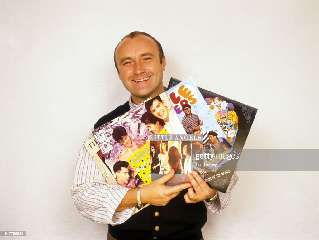 Phil Collins : News Photo