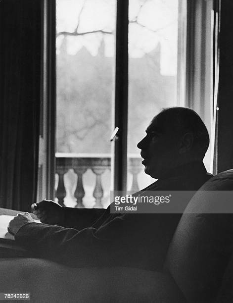 English economist John Maynard Keynes at his London home, 16th March 1940. Original Publication : Picture Post - 361 - Mr. Keynes Has A Plan - pub....