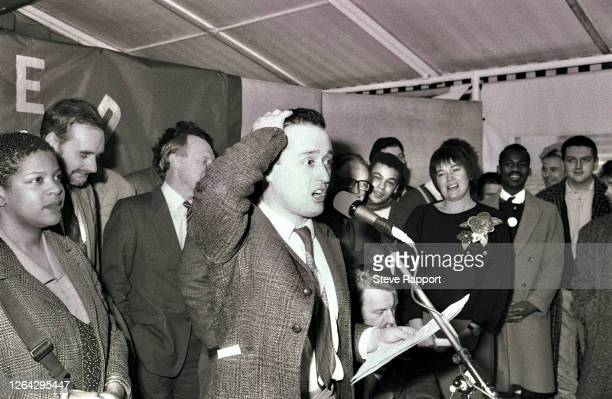 English electronic musician Paul Bower Red Wedge Launch Palace of Westminster London During the latter half of the 1980s the Red Wedge collective...