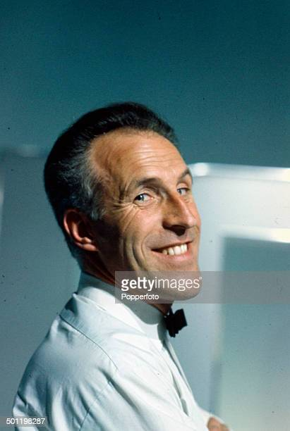 English entertainer and host Bruce Forsyth pictured on the set of the television series 'The Bruce Forsyth Show' in 1966