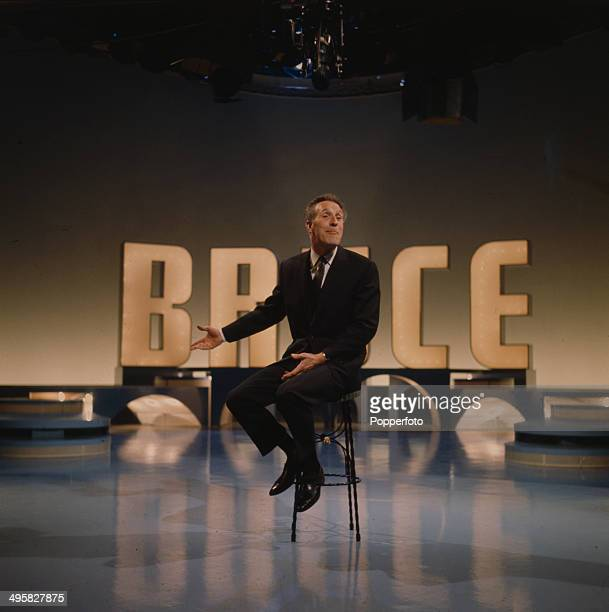 English entertainer and presenter Bruce Forsyth performs on the set of his television series 'The Bruce Forsyth Show' in 1966