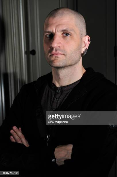 English fantasy fiction writer China Mieville photographed during a portrait shoot for SFX Magazine/Future via Getty Images April 12 2012
