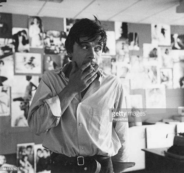 English fashion and portrait photographer David Bailey circa 1965