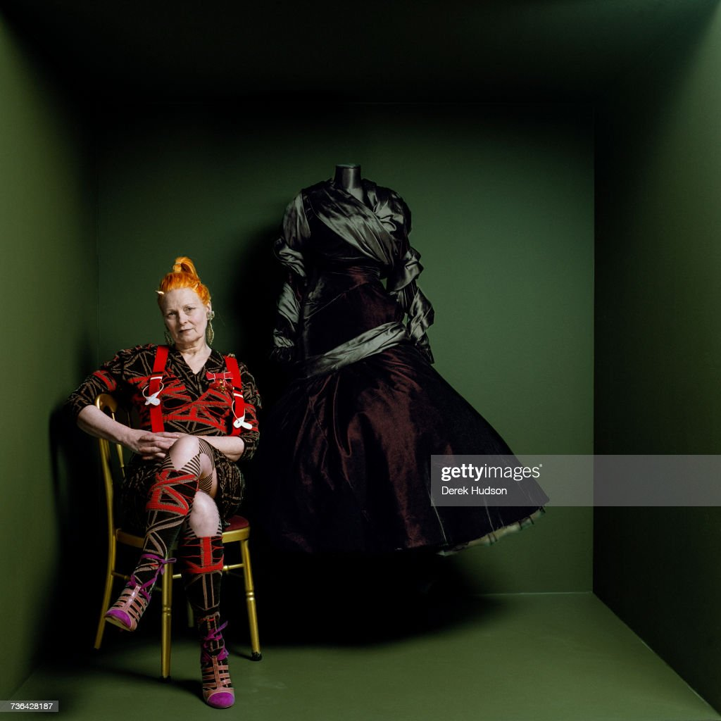 English Fashion Designer And Businesswoman Vivienne Westwood At A News Photo Getty Images
