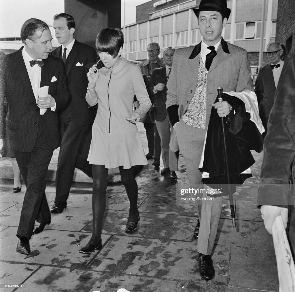 English Fashion Designer And Fashion Icon Mary Quant And British News Photo Getty Images