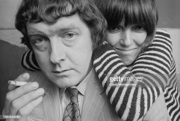 English fashion designer Mary Quant with her husband and business partner Alexander Plunket Greene , 1969.