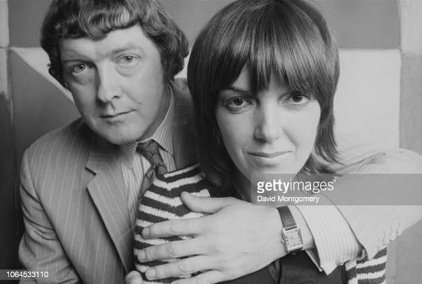 English fashion designer Mary Quant with her husband and business partner Alexander Plunket Greene 1969
