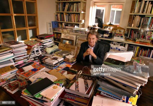 English fashion designer Sir Paul Smith at his office circa 2005