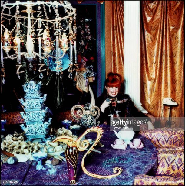 English fashion designer Zandra Rhodes in London 3rd March 1993