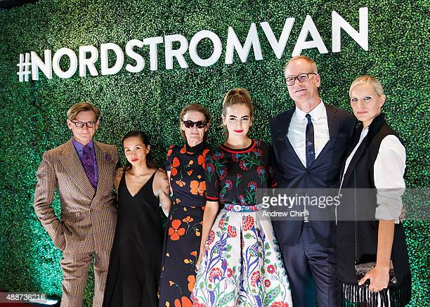 English Fashion Journalist Hamish Bowles Director of Creative Projects of Nordstrom Olivia Kim West Coast Director of Vogue and Teen Vogue Lisa Love...