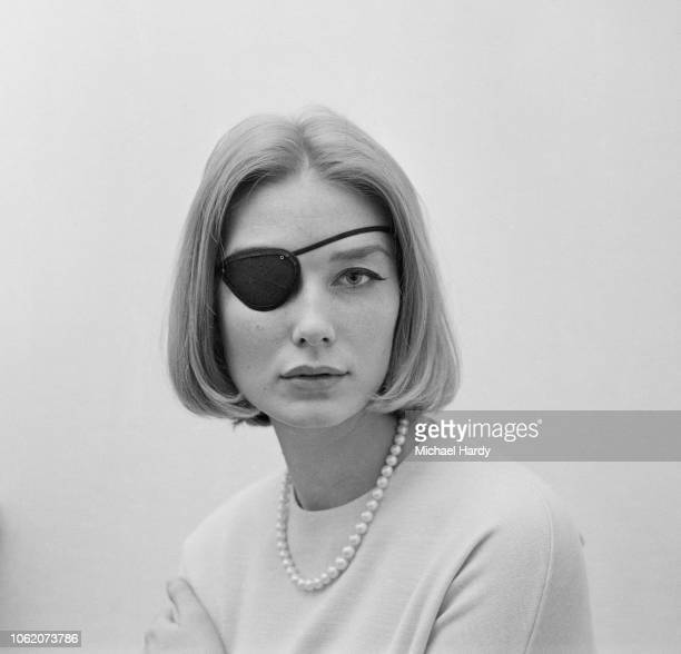 Image result for model with eye patch