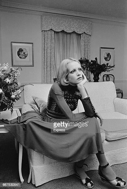 English fashion model Twiggy in America 17th December 1971