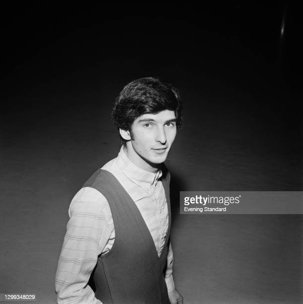 English figure skater Haig Oundjian, UK, 8th January 1972.
