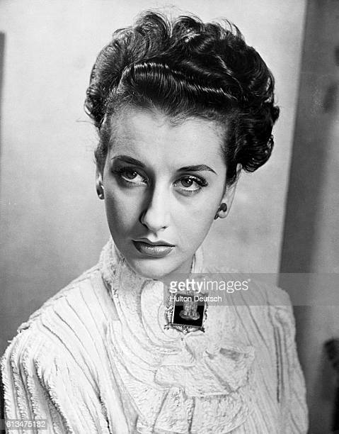 English film and stage actress Kay Kendall