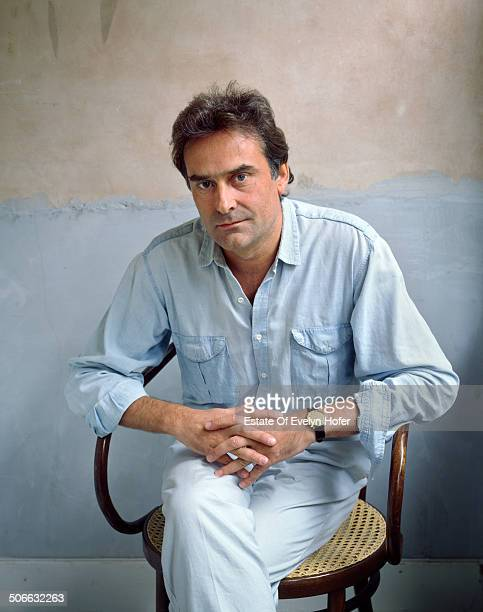 English film and theatre director Richard Eyre, London, UK, 1986.