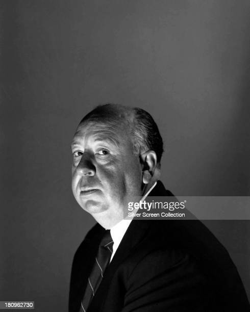 English film director Alfred Hitchcock London 1956