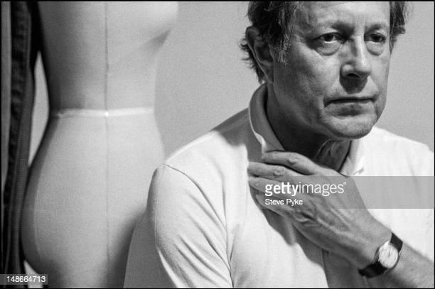 English film director and cinematographer Nicolas Roeg, Edinburgh, August 1983.