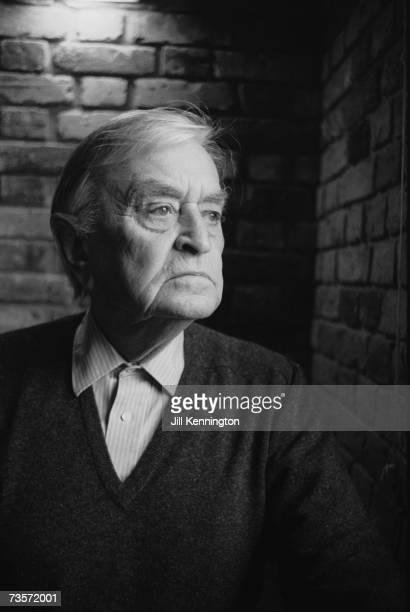English film director and producer Sir David Lean , circa 1985.