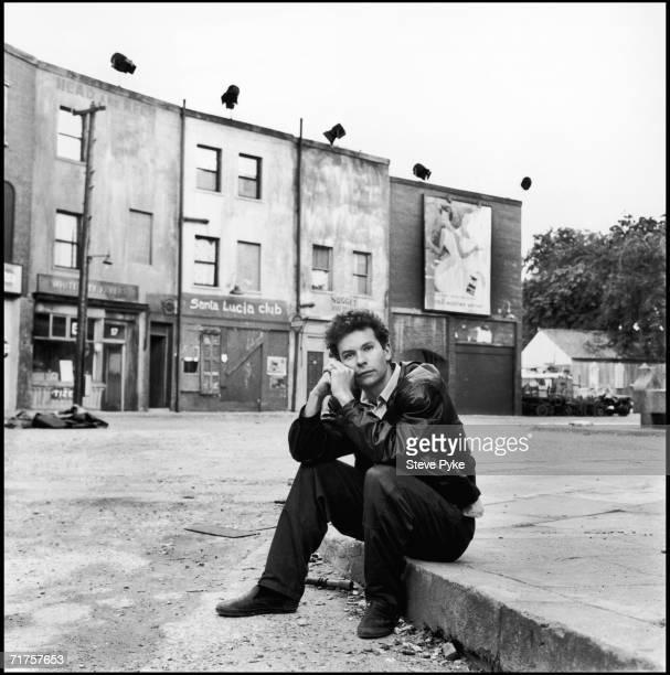 English film director Julien Temple at Pinewood Studios 1988