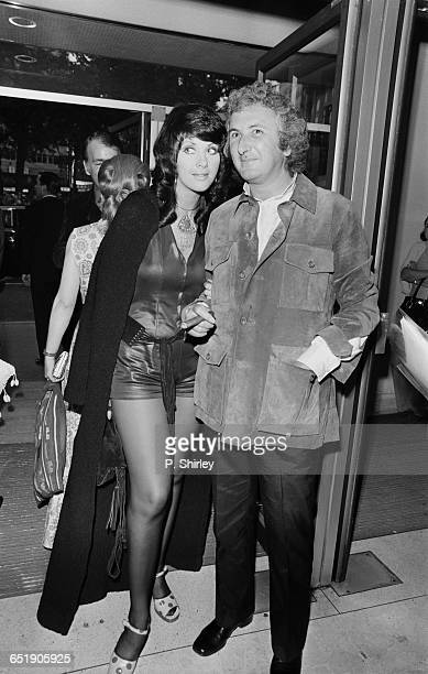 English film director Michael Winner and Australian actress Valli Kemp attend the London premiere of the film 'Sunday Bloody Sunday' 1st July 1971