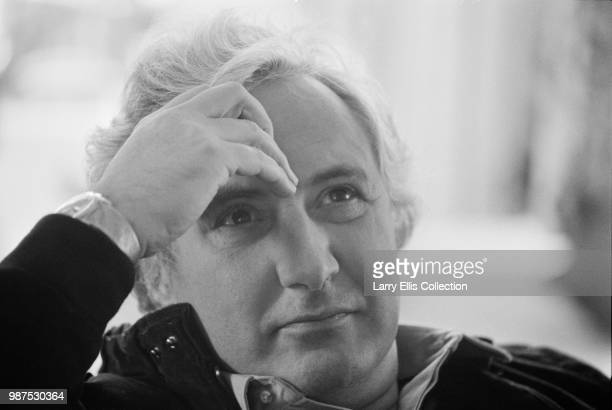 English film director Michael Winner pictured on a film set on 23rd November 1983 Michael Winner is currently at work directing the horror film...