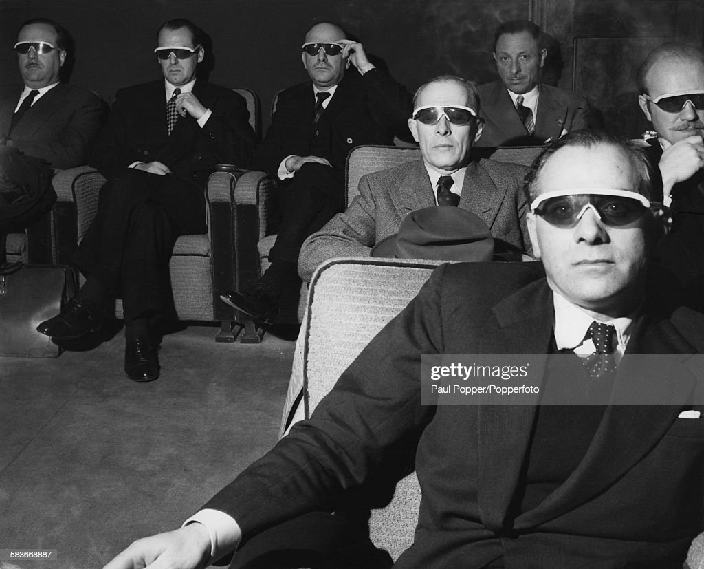 3-D Arrives In Britain : News Photo