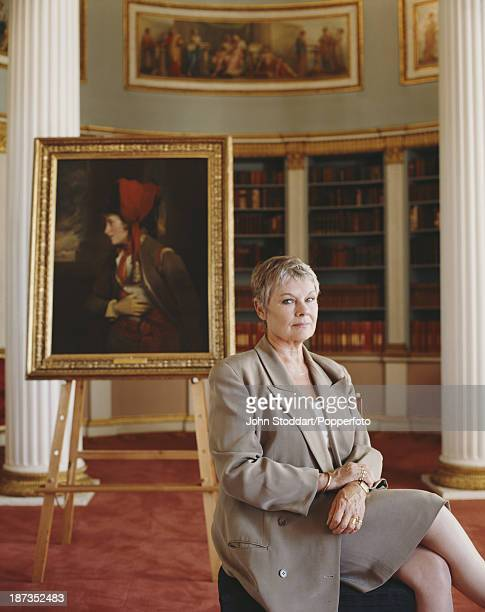 English film stage and television actress Judi Dench 1996