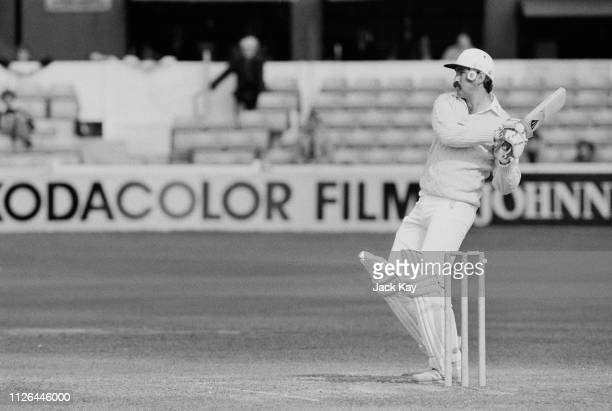English firstclass cricketer Graham Gooch during a match UK 13th September 1983