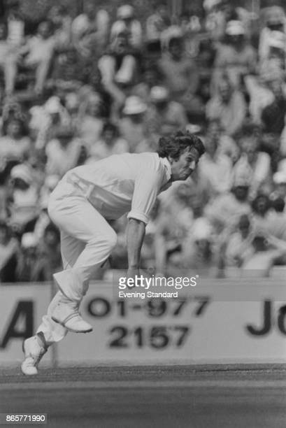 English firstclass cricketer Ian Botham in action during one of the test matches between England and New Zealand at The Oval London 29th July 1978