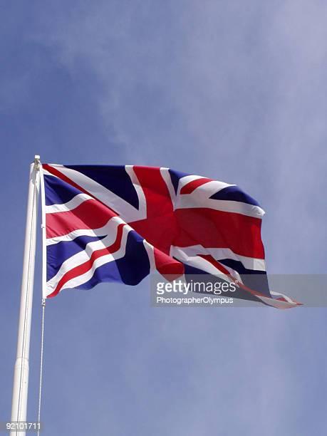 drapeau anglais - culture britannique photos et images de collection