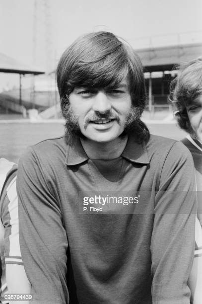 English fooballer Gordon Phillips of Brentford FC UK 1st September 1971