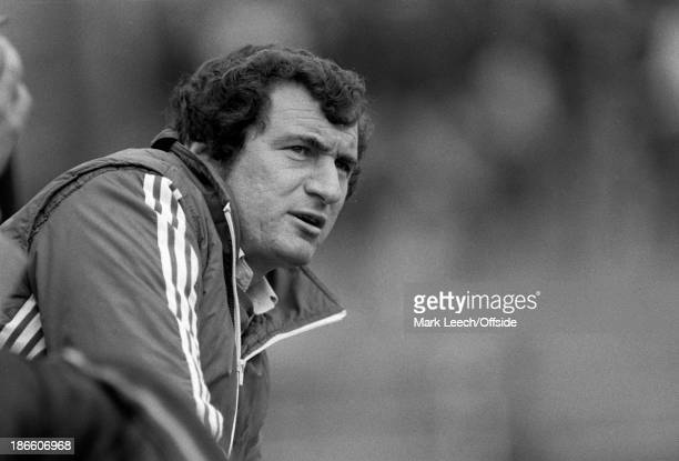 English Football League Division 2 Notts County v Luton Town Luton manager David Pleat