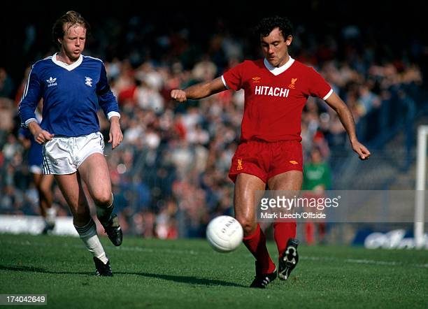 English Football League Division One Birmingham City v Liverpool Ray Kennedy