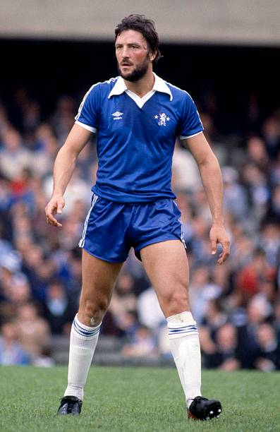 English Football League Division One, Chelsea v Arsenal, Micky Droy.