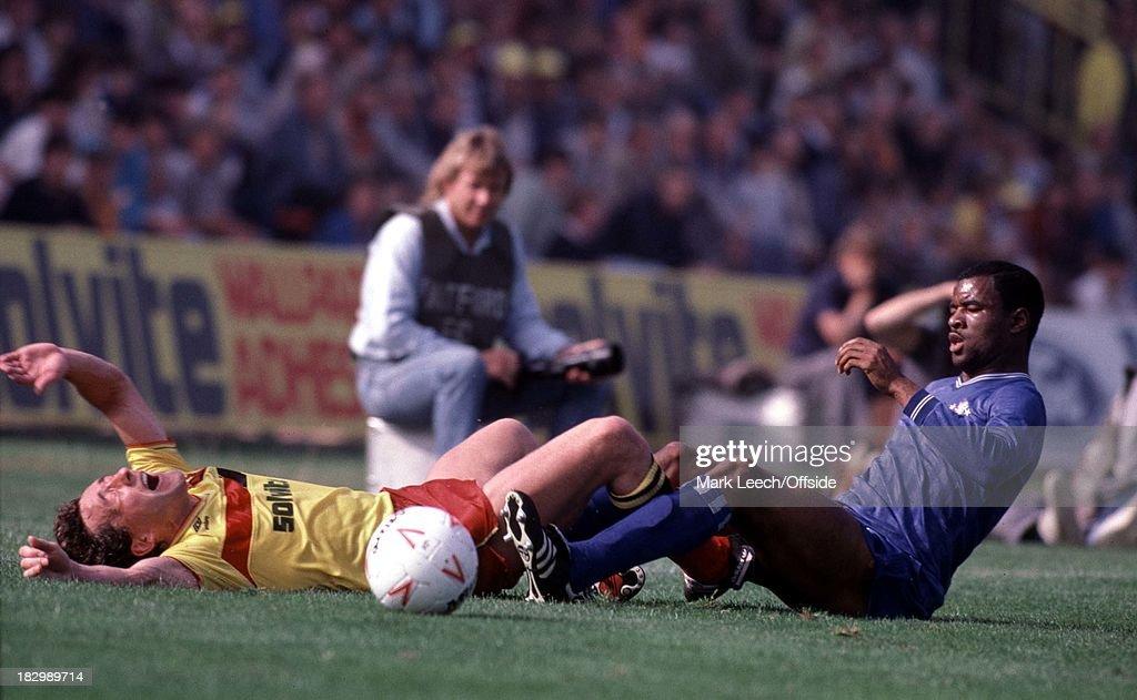 Watford - Chelsea 1985 Football League : News Photo