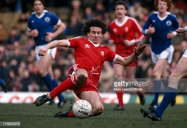 English Football League Division One Everton v Middlesbrough Craig Johnston