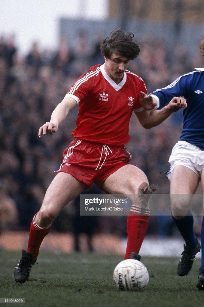 Middlesbrough V Everton 1980 : News Photo