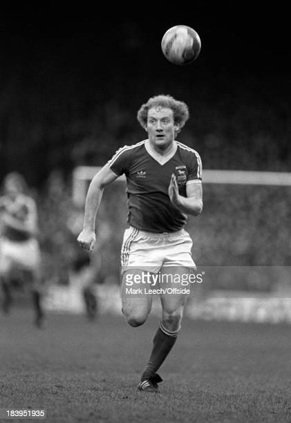 English Football League Division One Ipswich Town v Manchester United Alan Brazil
