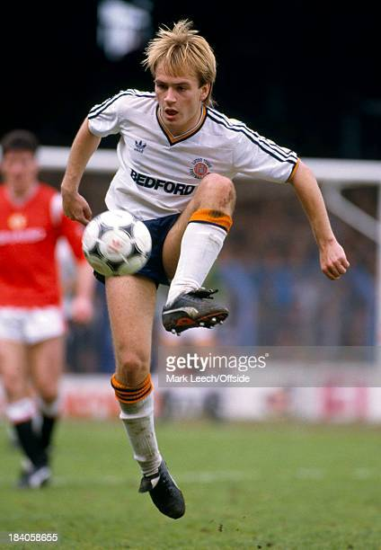 English Football League Division One Luton Town v Manchester United David Preece of Luton