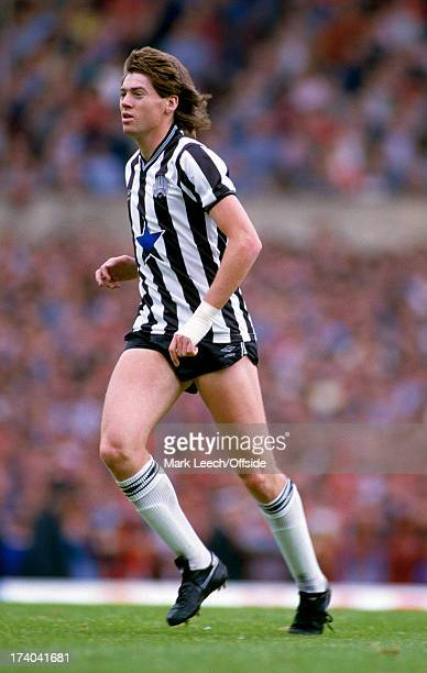 English Football League Division One Manchester United v Newcastle United Chris Waddle
