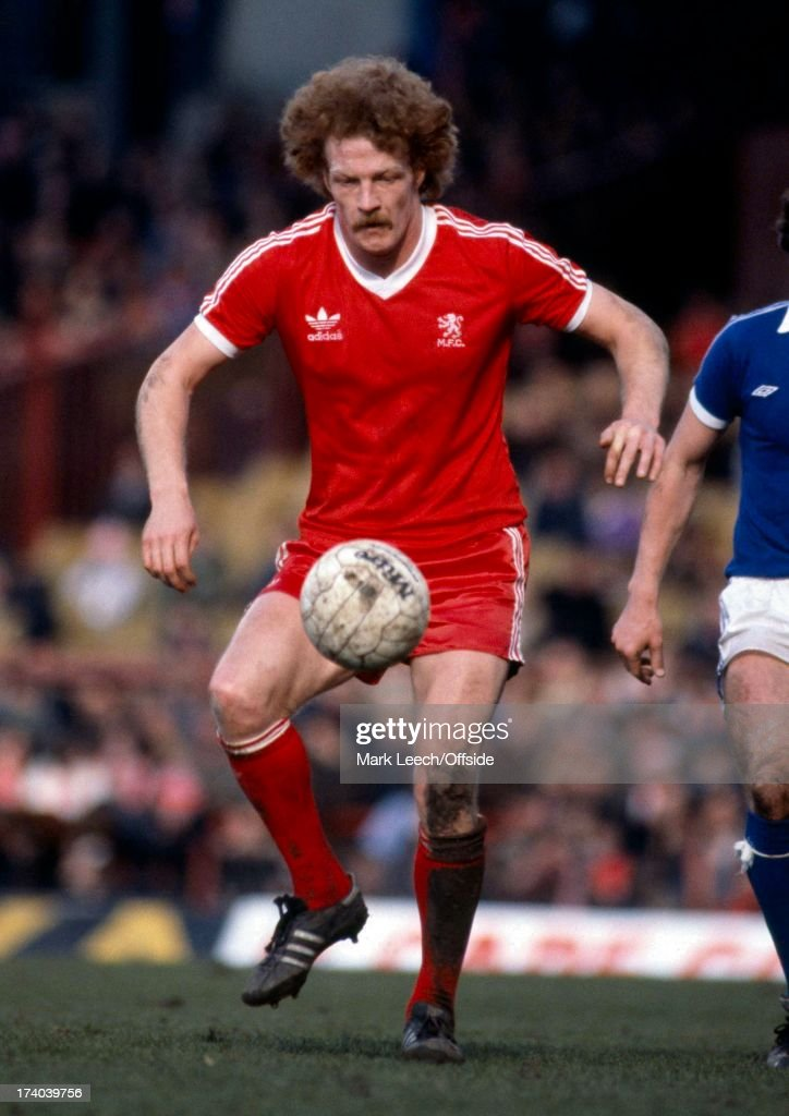 Middlesbrough V Everton 1980 : News Photo