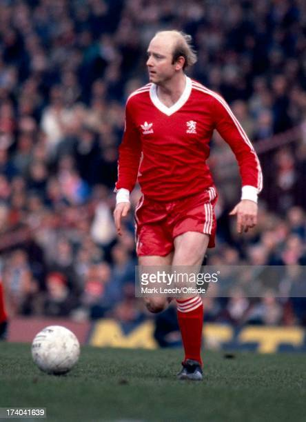 English Football League Division One Middlesbrough v Everton David Armstrong
