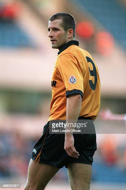 English Football League Division One Millwall v Wolverhampton Wanderers Steve Bull of Wolves