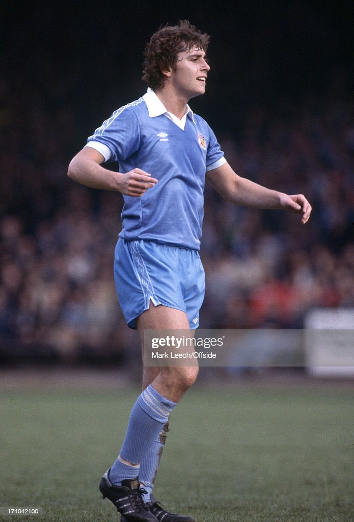 24/10/1979 English Football League Division One. Norwich City v Manchester City. Michael Robinson : News Photo