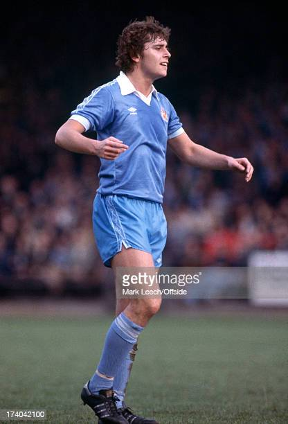 English Football League Division One. Norwich City v Manchester City. Michael Robinson.