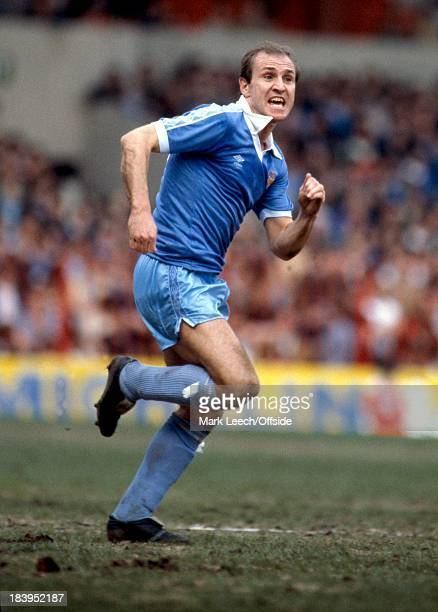 English Football League Division One, Stoke City v Manchester City, Denis Tueart.