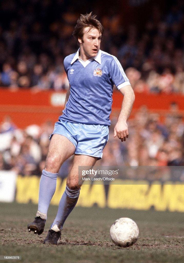 Stoke v Man City 1981 : News Photo