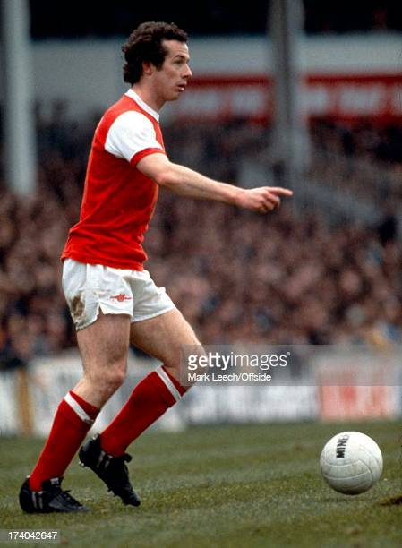 English Football League Division One Tottenham Hotspur v Arsenal Liam Brady