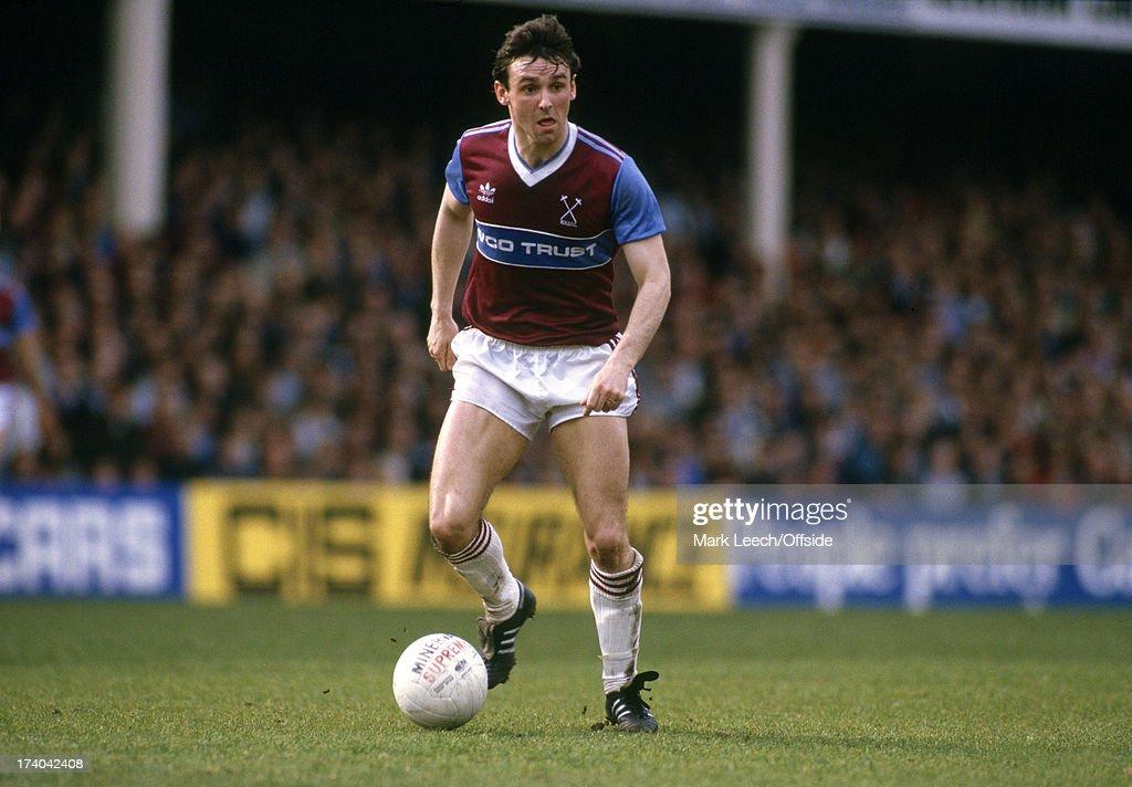 Paul Allen Of West Ham 1985 : News Photo